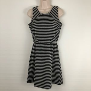 Olive & Oak Sleeveless Striped Dress Sz S